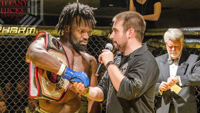 The so-far-perfect mixed martial arts career of Brevard County's Muhammed De'Reese will take another step forward on Saturday when the Titusville fighter competes in a World Series of Fighting event in Daytona Beach.