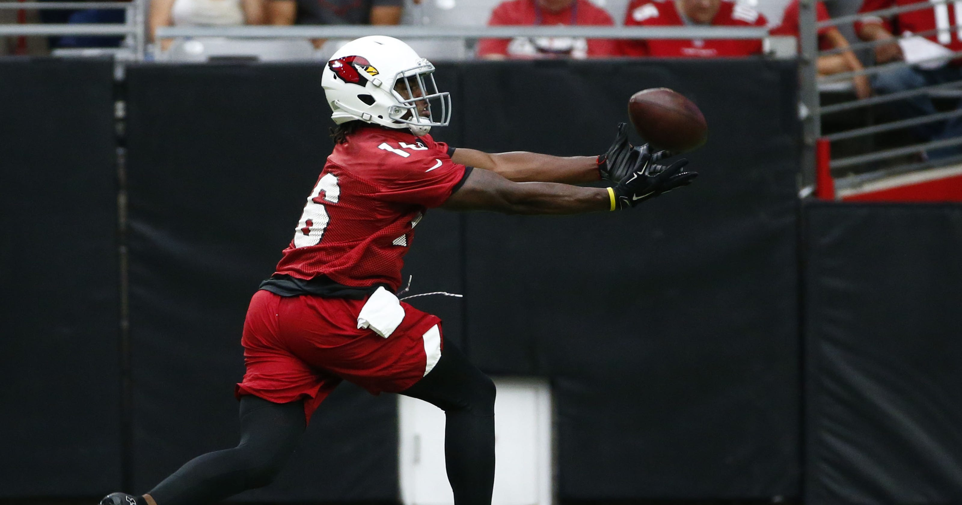 50def6a1 Arizona Cardinals rookie receiver Chad Williams ready to contribute
