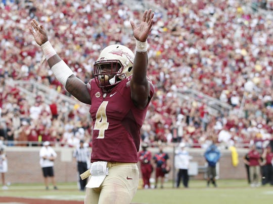 Dalvin Cook is 12 yards shy of setting new Florida State single-season rushing record.