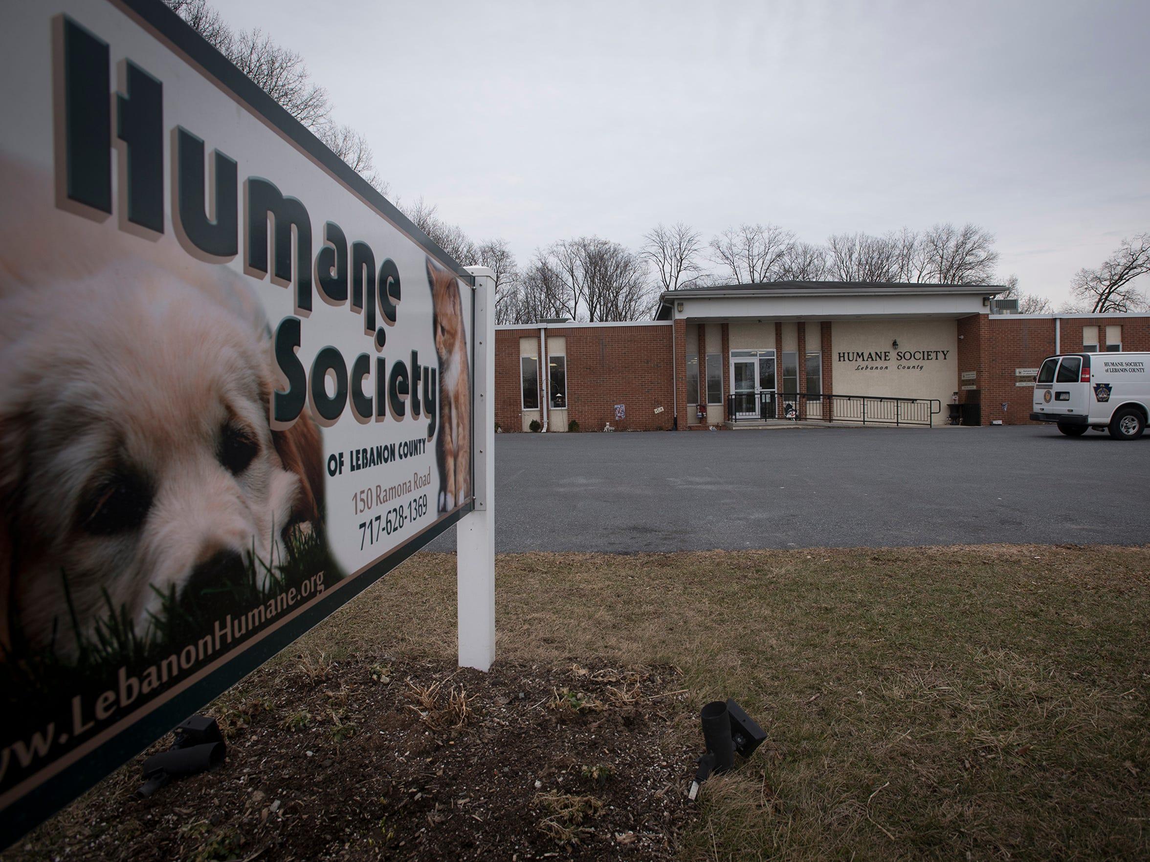 The Humane Society of Lebanon County.
