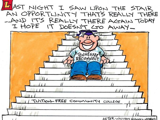 Charlie Daniel editorial cartoon for Tuesday, May 31,
