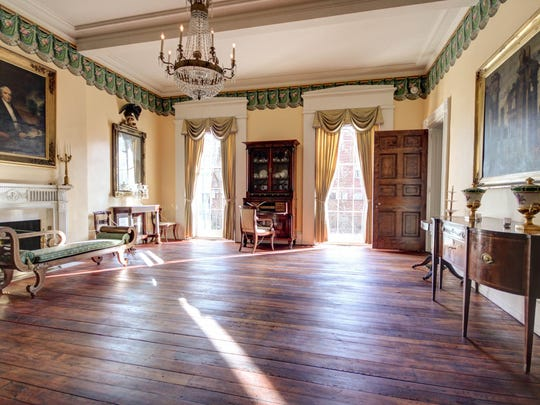 """The historic Physick House in Philadelphia is the setting for Philadelphia Artists'  Collective's FringeArts production of """"The Captive."""""""
