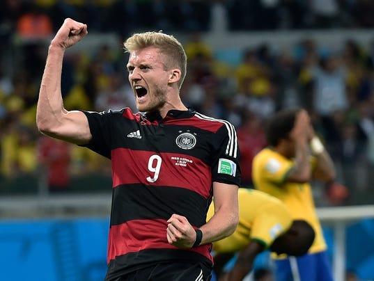 APTOPIX Brazil Soccer WCup Brazil Germany
