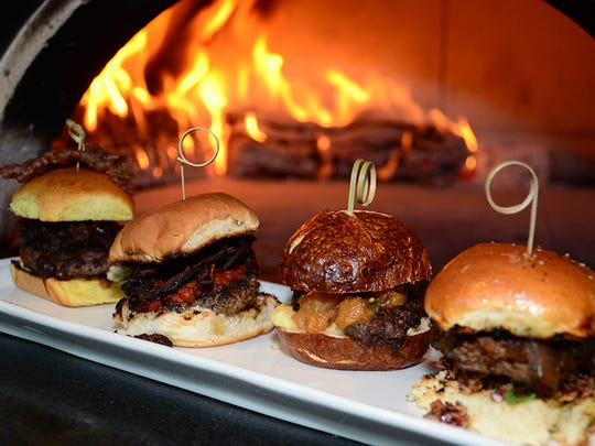 These gorgeous burgers were on tap July 4 during the Blended Burgers & Brews Bash at the Playalinda Brewing Company -- Brix Project in Titusville.