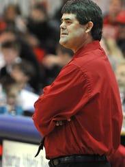 Plymouth coach Troy Keene