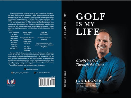 Jon Decker will be signing copies of his book in the