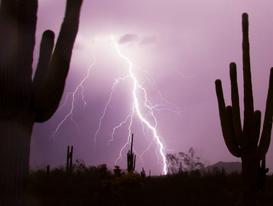 how to get struck by lightning