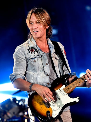 Keith Urban performs at the 2018 CMA Music Festival on Saturday, June 9, 2018, at Nissan Stadium in Nashville.