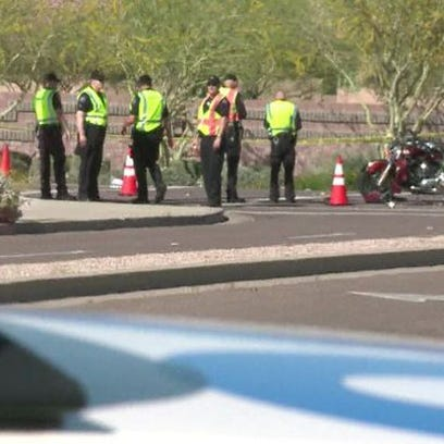 Two motorcyclist were hit and killed in Scottsdale