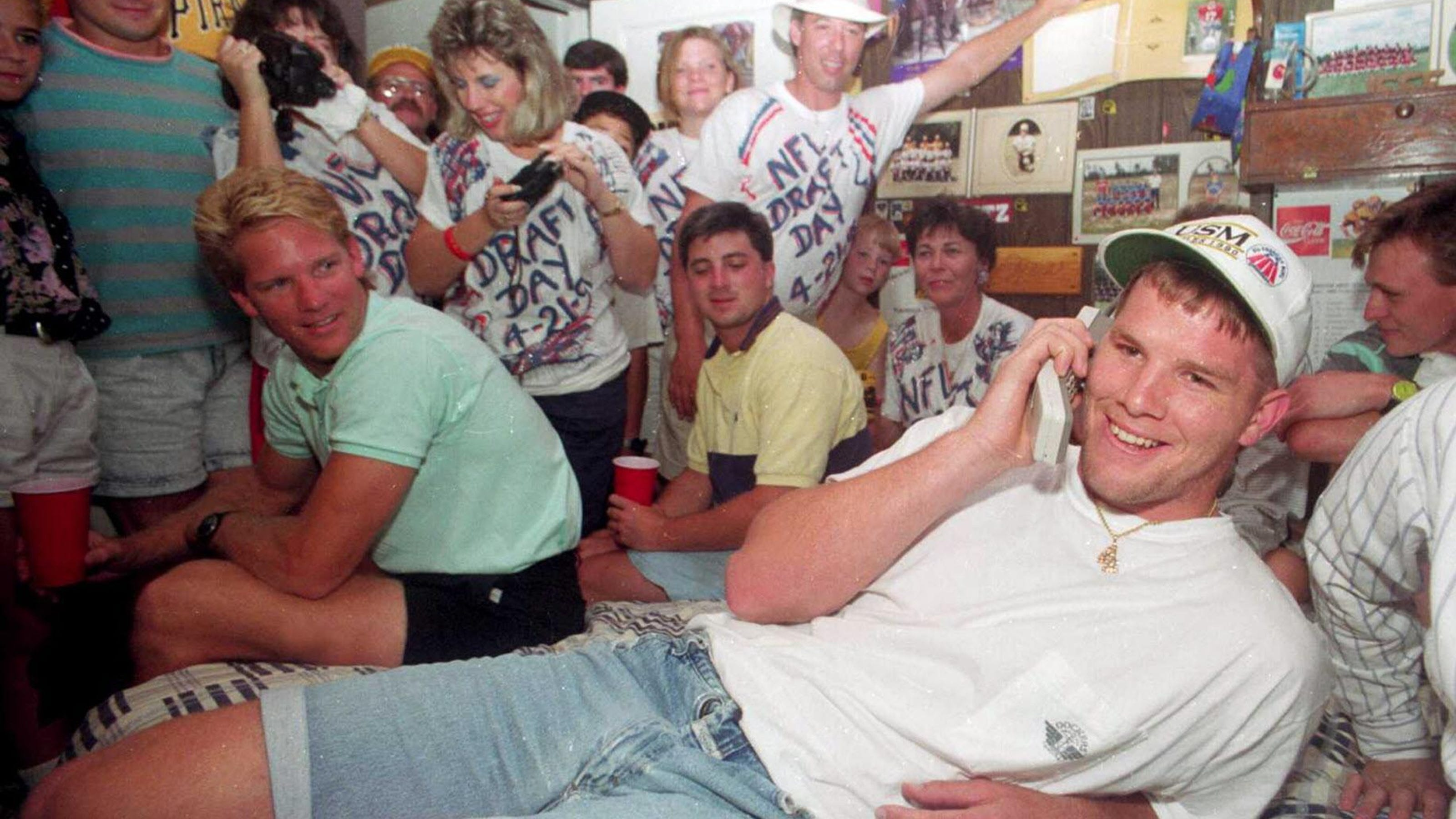 Brett Favre Reflects On 1991 Nfl Draft