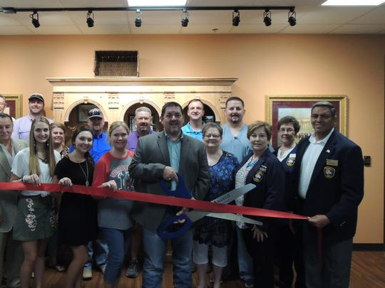 San Angelo City Council Member Harry Thomas joined the Concho Cadre and friends and family of Darrin Fentress during the grand opening of Fentress Engineering at 2007 W. Beauregard Ave. on Aug. 18.