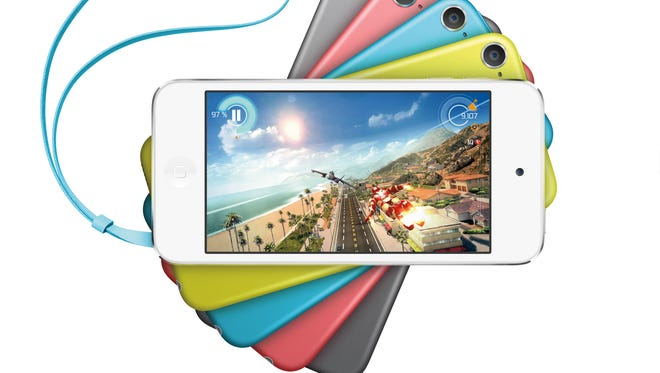 Apple's iPod Touch.