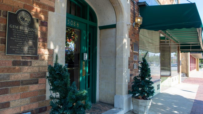 The historic GEM Building near the corner of S.W. 10th Street and Topeka Boulevard will soon be home to Prairie Glass Studio. The studio had to find a place to relocate after its current building sustained some structural damage, and Kymm Ledbetter, owner of Prairie Glass, hopes to open in the GEM Building by Nov. 1.