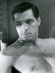 """In 1960's """"Psycho,"""" Sam Loomis (John Gavin) inspires"""