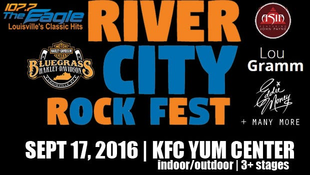 The River City Rock Fest has been canceled.