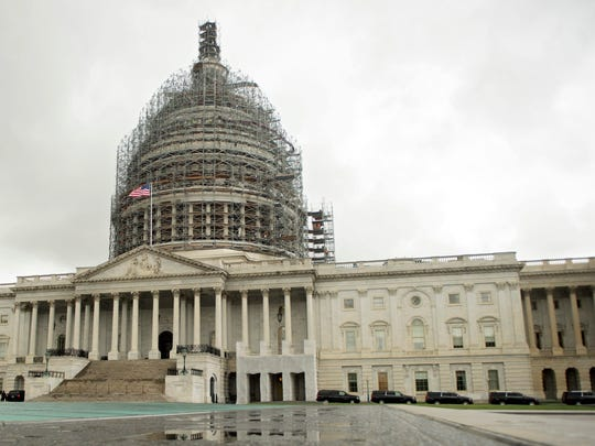 The U.S. Capitol, where the Senate Ethics Committee sees no wrongdoing.