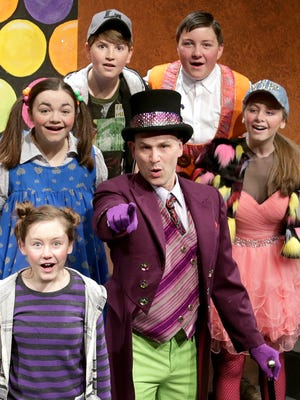 """""""Willy Wonka"""" will be performed Dec. 2-18 at the Des Moines Community Playhouse."""