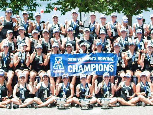 Women;s rowing AAC