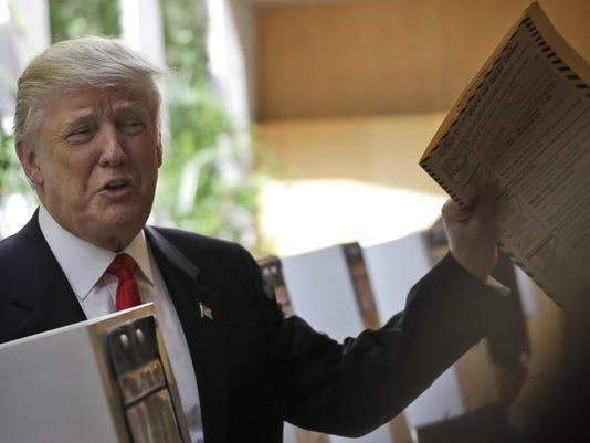 AP GOP 2016 TRUMP A ELN USA NY