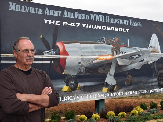 Millville Airport mural