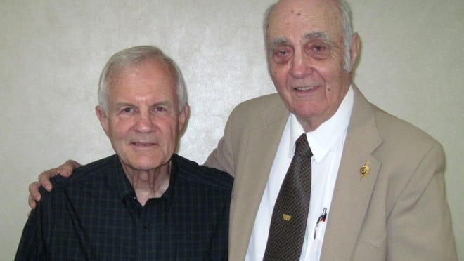 Bob Harvey and Paul Frederick