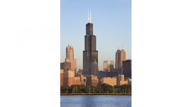 The Willis Tower, which opened in 1973 as the Sears Tower. It was the tallest building in the U.S. at the time. (Photo: Thinkstock)