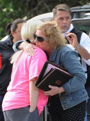 Emotions ran high at the scene of an incident on Union