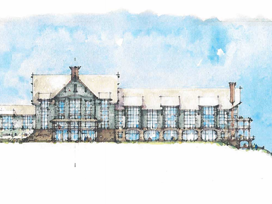 A Grand Bohemian hotel is planned in Falls Park.