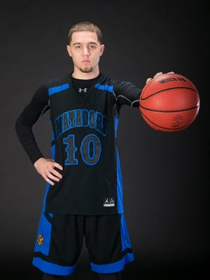 Big schools boys basketball player of the year Michael Bibby of Shadow Mountain is seen on Thursday, March 17, 2016.