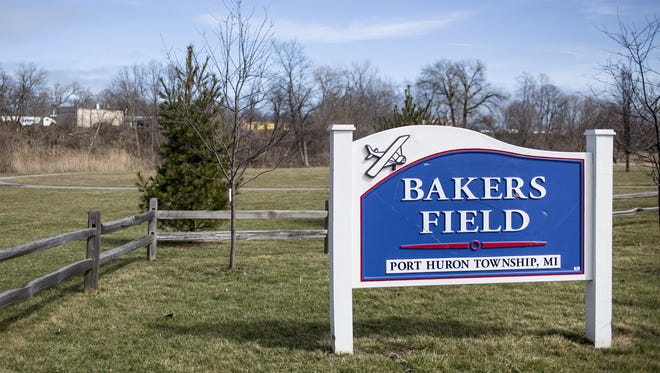 Port Huron Township officials are pursuing a plan to add a mile of paved walking trails and install an outdoor fitness area at Bakers Field park.