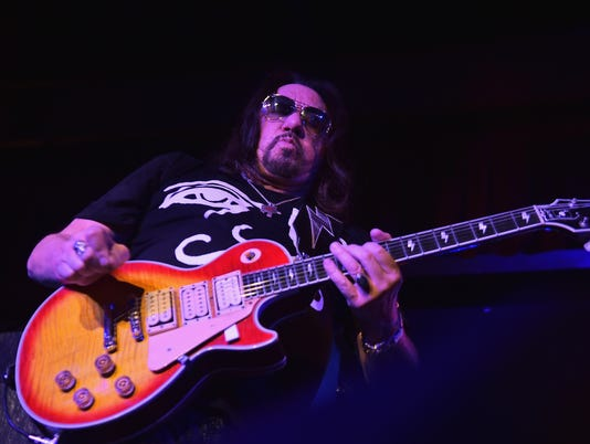 """Ace Frehley """"Space Invader"""" Tour 2014"""