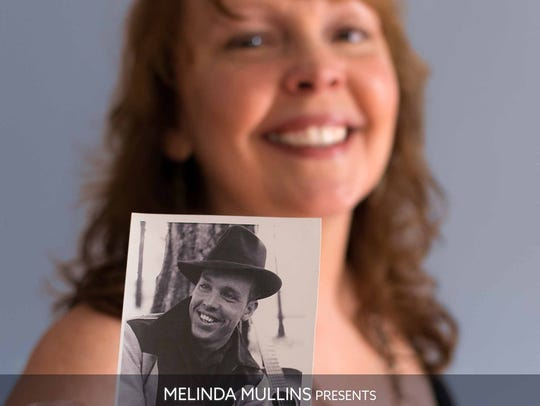 """Daughter and father are pictured on the cover of """"Melinda"""