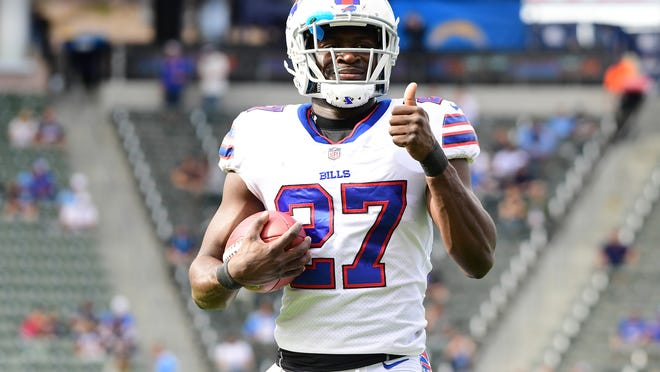 Tre'Davious White is inactive for the Tuesday night game against the Titans.