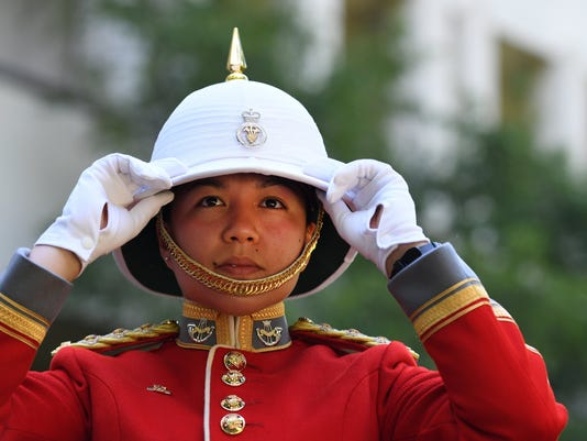 EPA BRITAIN CANADA DEFENCE CHANGING OF THE GUARD POL DEFENCE GBR