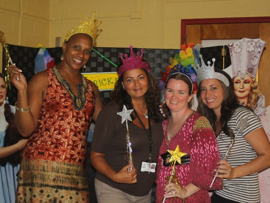 Max Leuchter School staff members were welcomed back