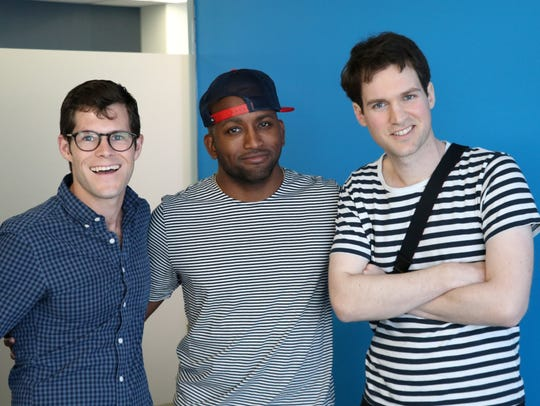YouTube animators Caldwell Tanner, Adande Thorne and