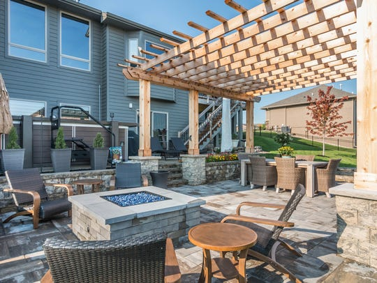 This project in this year's Outdoor Living Showcase,