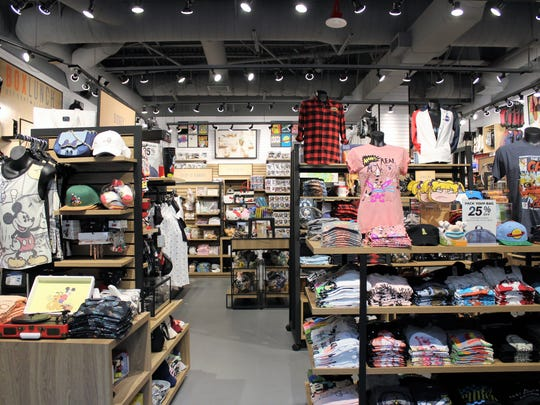 A recent publicity photo shows the interior of a BoxLunch store. One is to open in Battlefield Mall Dec. 16, 2017.