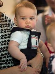Prince George at Plunket