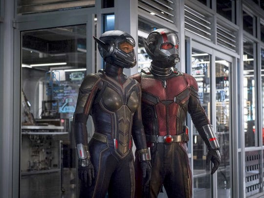 """Evangeline Lilly and Paul Rudd star in """"Ant-Man and The Wasp."""""""