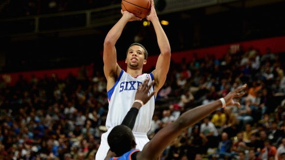 Sixers rookie Michael Carter-Williams has been named the NBA Eastern Conference Rookie of the Month for the second time. He leads all rookies with 17.3 points, 5.4 rebounds, 6.6 assists and 2.3 steals per game.