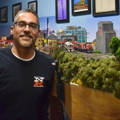 Engineer railroad lover rebuilds Poughkeepsie's past - in miniature