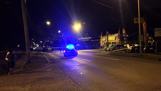 A fatal shooting on Surrey Street