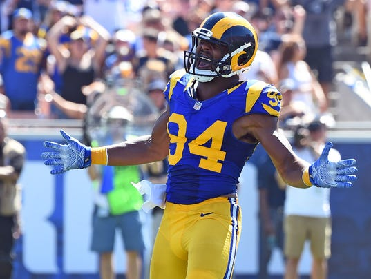 USP NFL: SEATTLE SEAHAWKS AT LOS ANGELES RAMS S FBN USA CA