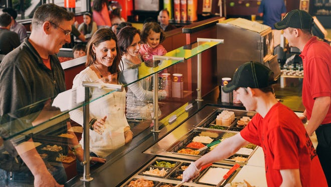 "Moe's Southwest Grill has unseated Chipotle as fast casual Mexican restaurant ""Brand of the Year,"" according to an annual Harris Poll."