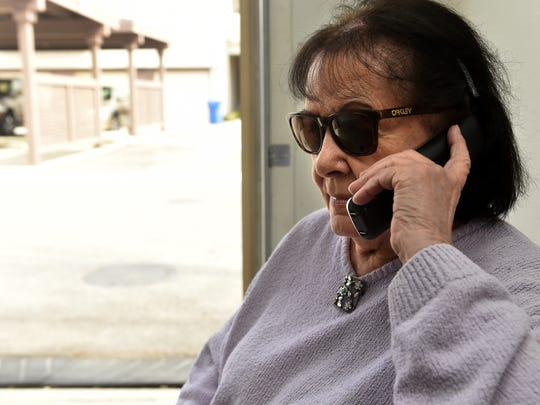 JoAnn Wacht, of Westlake Village, uses her home phone