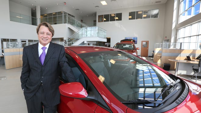 Automotive dealer Terry Lee is shown in his newly opened Terry Lee Hyundai in Noblesville in March 2015. Lee's Honda dealership in Avon was selected as a Top Workplace for 2016 in a survey conducted by WorkplaceDynamics and IndyStar.