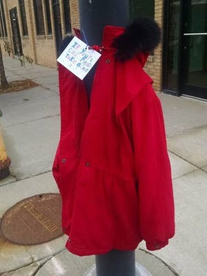 Someone left this coat on a pole in downtown Des Moines. Have you seen similar acts of kindness from Good Samaritans?