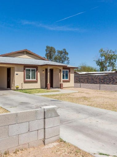 85034: The south Phoenix neighborhood surrounding Phoenix's Sky Harbor International Airport is the Valley's most affordable area to buy a house. The median house price is $106,000.