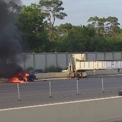 The accident involved an 18-wheeler truck and at least